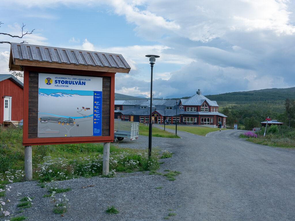 Storulvåns fjällstation i Jämtland