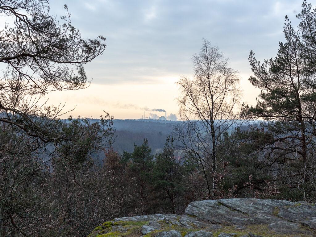 Natur och fabriken Väröbruk.