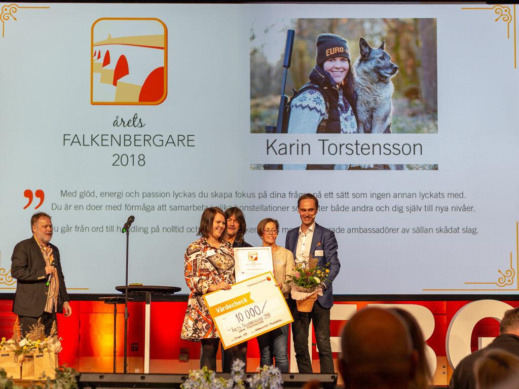 Årets Falkenbergaren blev landsbygdsutvecklare Karin Torstensson