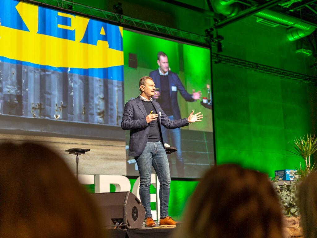 Stefan Sjöstrand pratar om produktutveckling på IKEA
