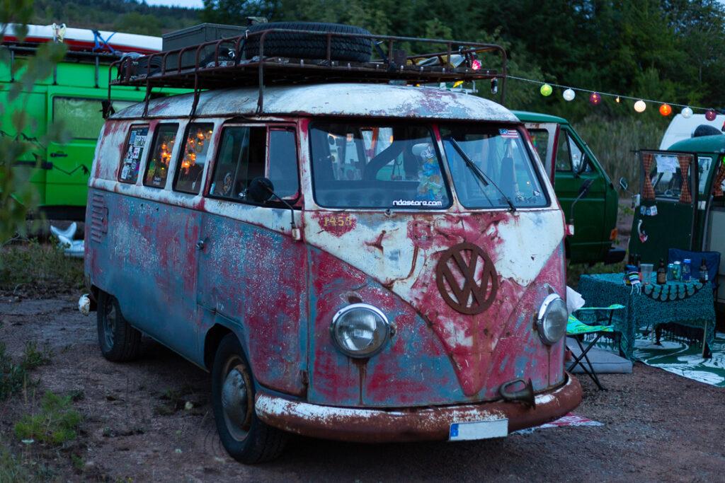 Volkswagen buss från 1958