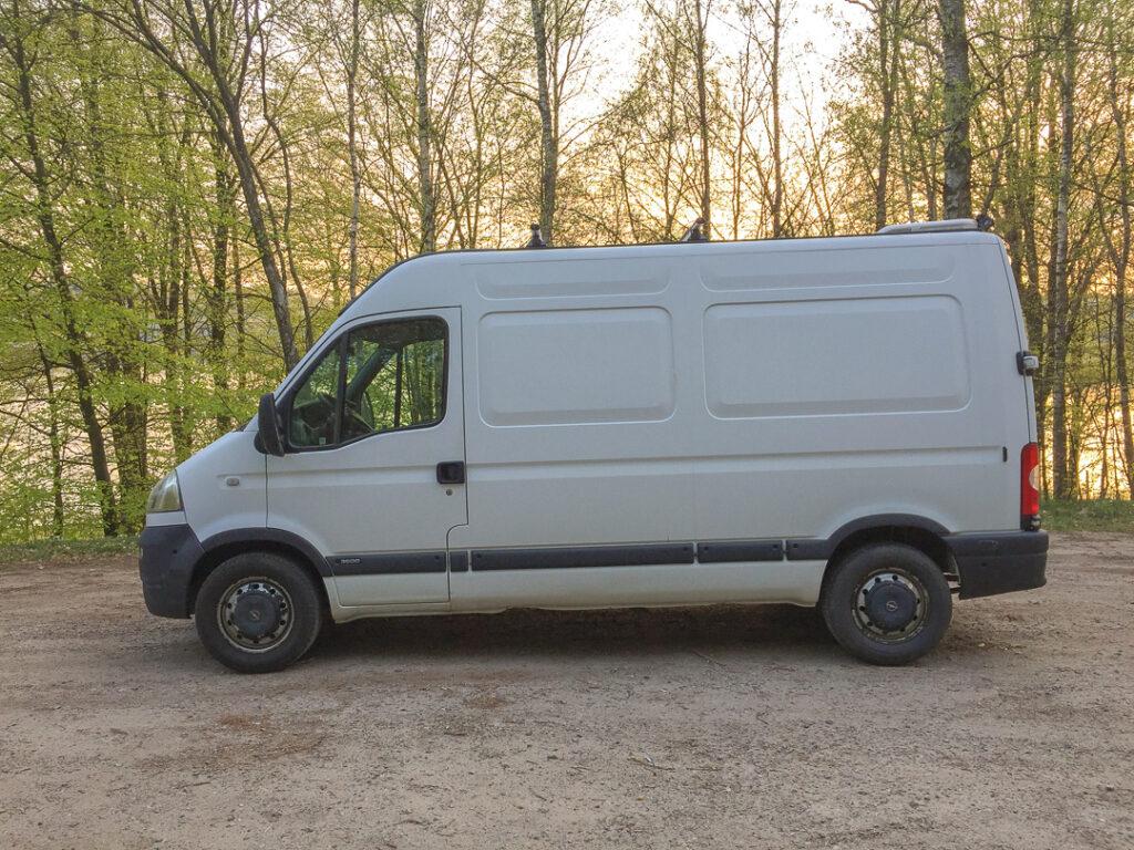 Opel Movano blivande husbil