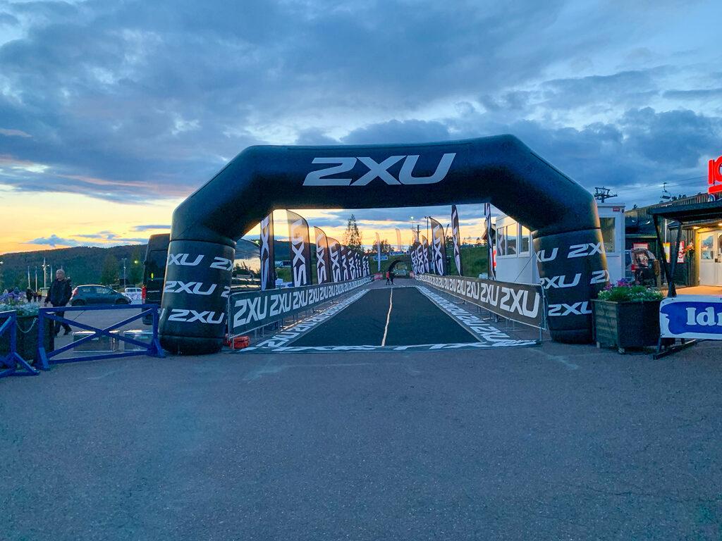 Starten dagen innan Idre fjällmaraton 2019.